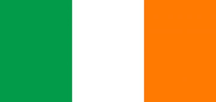The national flag of Eire