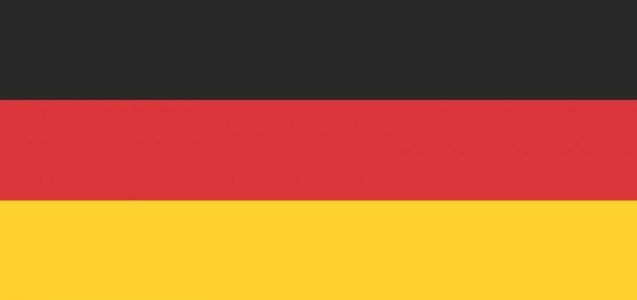 The Nationla Flag of Germany