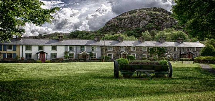 Village green in Beddgelert