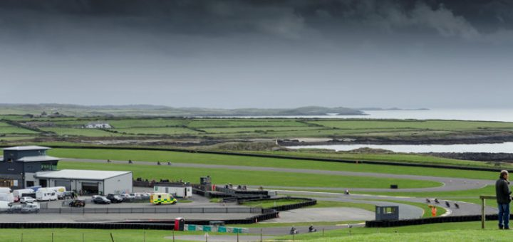 Stunning location for a race track